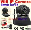 WPA Wireless Wi-Fi Internet PTZ Dual Audio Built-in Microphone IP Camera