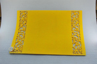Easter new non-woven flower table mat