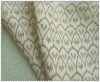 100% linen material fabric printed with pattern