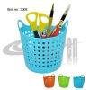 Mini shopping basket style pen holder