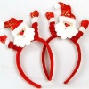 2012 New Christmas Decoration Gift Christmas Party Santa Claus Costumes Hats Headband