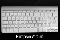New Arrival !!! Different Countries Wireless Bluetooth Keyboard For Apple Mac