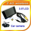 Universal 2.4G wireless car back up camera system