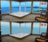 switchable privacy smart window glass
