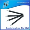 Replaceable Soldering Welding Iron Tips 60W Balck