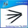 Replaceable Soldering Welding Iron Tips 60W Balck