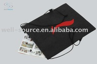 Non woven fabric drawing bags