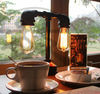 Hot Product retro Edison lamp bedside lamp, study, bar cafe plumbing Table Lamp