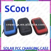 portable mini solar charger case with Micro usb port