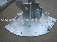Aluminum welding structure