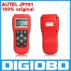 Engine, A/T, ABS, and Airbags for major Japanese vehicles Global OBD II/EOBD coverage MaxiDiag JP701 CODE SCANNER