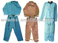 welding leather clothing