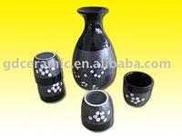 Hand-painted Japanese Style Sake Set
