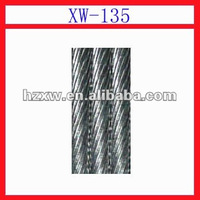 XW-135 Zinc-5%Aluminum-MM alloy-coated steel wire strand