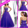 2012 Elegant Design Empire Custom Made Beaded Ball Gown Party Prom Dress PE171