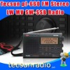 Retail-Wholesale Tecsun pl-660 FM Stereo LW MV SW-SSB AIR PLL SYNTHESIZED PL660 Radio