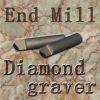 Diamond Tool for Marble Stone CNC Engraving