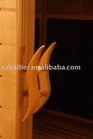 handle of infrared sauna room