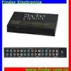 Component Video & Stereo Audio Amplifier Splitter - 5way AV (YUV / RGB Video & Audio) Splitter