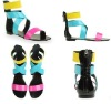 colorful summer sandles,women top brand sandles