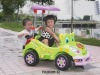 4 wheel baby carriage,baby electric car with sunshade ride on toy
