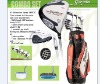 G5 hot selling special designed junior golf club set