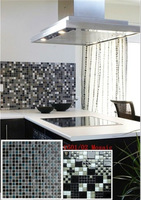 decorative mosaic decorations,crystal clear glass mosaic