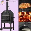 Steel BBQ & pizza oven for sale