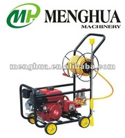 trolley sprayer, power sprayer, big prayer, hand push sprayer, sprayer with hose, sprayer MH168F-22A-2, sprayer with engine