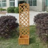 WOODEN LATTICES PLANTER