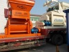 JS 1000 twin-horizontal forcible concrete mixer