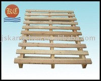 Both sides shovelled wooden pallet