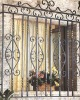 decorative wrought iron windows guards