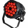 ip65 18pcs*10w rgbw 4 in 1 quad-color led par can stage lighting equipment