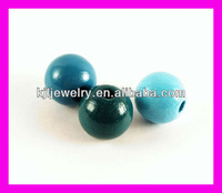 WD018 Round Wood Ball & Natural 20mm Wood Ball For Bracelet