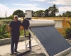 2012 non pressure solar hot water heater for home use