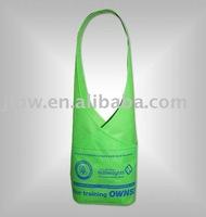 fancy green non woven bag shopping bags
