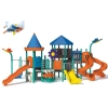 Amusement toy(plastic slide combination,plastic slide combination)