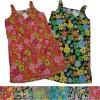 Stock Women allover printed sleep dress/sleepwear,usd1.15