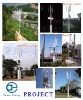solar street light Model WP355HB-01  SAIL (Wind power 300W+solar power 55W)