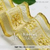 Wire Ribbon, Gold Wired Ribbon