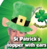 St Patrick hat with ear