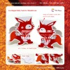 Fox Shaped Sticky Note for ChinaHR.com