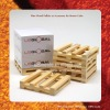 Wood Pallet, Wooden Pallet - Accessory for Memo Cube, Memo pad