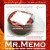 Memo Pad/ Memo Cube/ Spiral Note Pad with Transparent PET Box