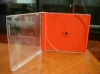10.2mm red single CD case(CD sleeve , CD box)