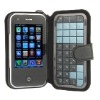 T2000 Quad band Dual card WiFi JAVA TV unlocked touch screen cell phone,GSM mobile phone