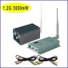 1.2G 3000mW 12 CHS wireless receiver and AV transmitter RF61