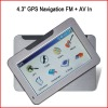 "4.3"" TFT Screen Car GPS Navigation System GP24"