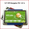 "Sell New Designed 5.0"" Car GPS Navigation with AV in GP11"